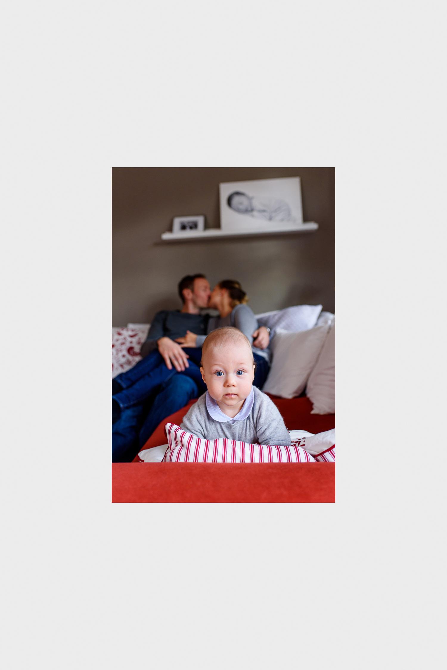 familie, baby - Homeshooting zu dritt -  (C) Lichtmädchen Fotografie | Nicki Schäfer