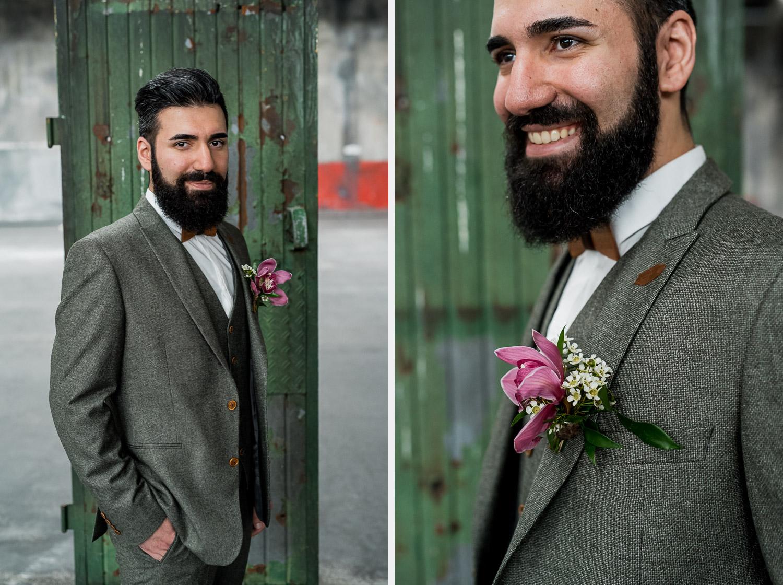Boho Industrial Hochzeitsinspiration Lichtmadchen Fotografie