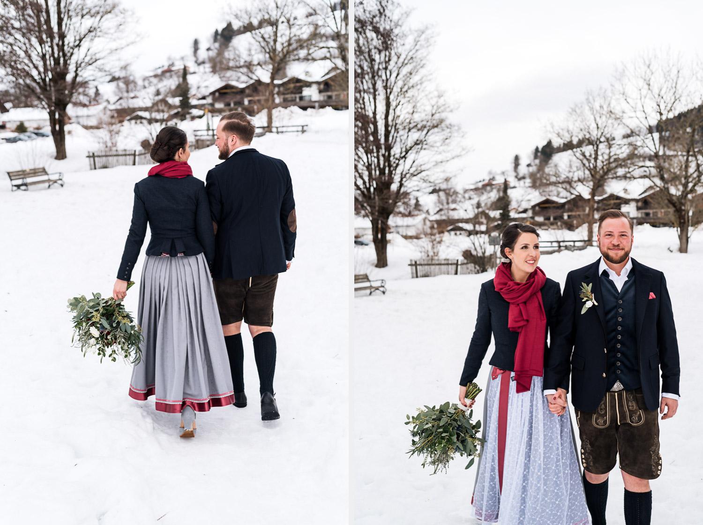 Hochzeitsfotos-Winter-Schliersee-02 - (C) Lichtmädchen Fotografie Nicki Schäfer