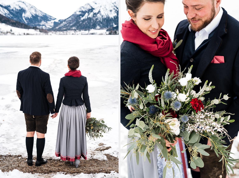 Hochzeitsfotos-Winter-Schliersee-05 - (C) Lichtmädchen Fotografie Nicki Schäfer