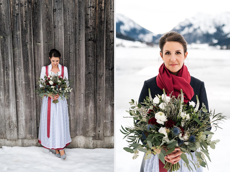 Hochzeitsfotos-Winter-Schliersee-09 - (C) Lichtmädchen Fotografie Nicki Schäfer