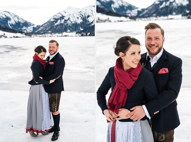 Hochzeitsfotos-Winter-Schliersee-19 - (C) Lichtmädchen Fotografie Nicki Schäfer