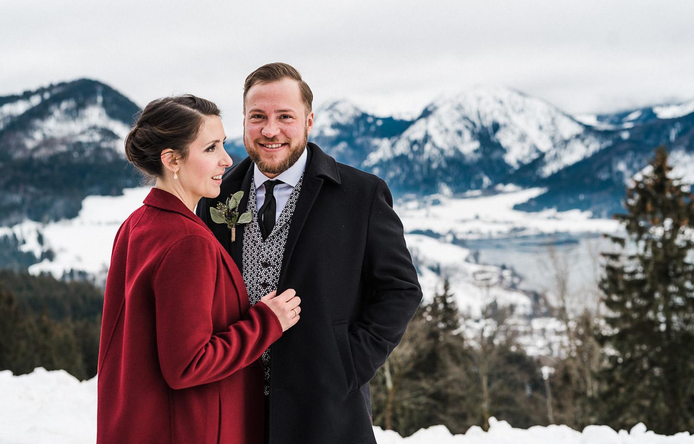 Hochzeitsfotos-Winter-Schliersee-53 - (C) Lichtmädchen Fotografie Nicki Schäfer
