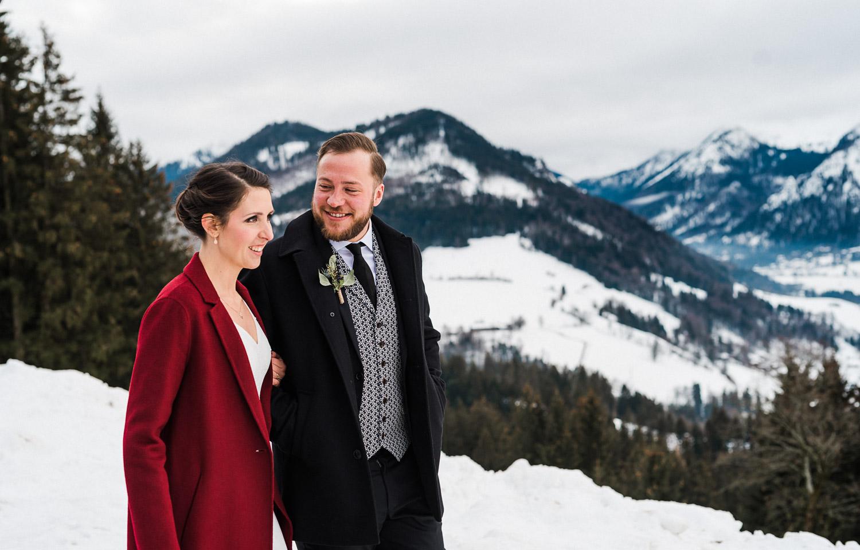Hochzeitsfotos-Winter-Schliersee-55 - (C) Lichtmädchen Fotografie Nicki Schäfer